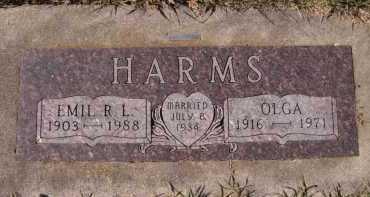 HARMS, OLGA - Moody County, South Dakota | OLGA HARMS - South Dakota Gravestone Photos