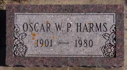 HARMS, OSCAR W P - Moody County, South Dakota | OSCAR W P HARMS - South Dakota Gravestone Photos