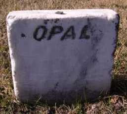HARMS, OPAL (FOOTSTONE) - Moody County, South Dakota | OPAL (FOOTSTONE) HARMS - South Dakota Gravestone Photos