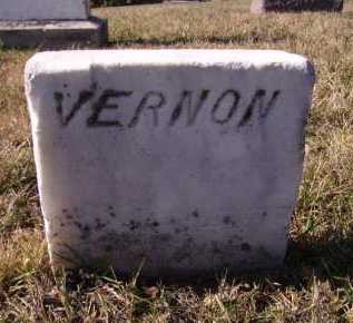 HARMS, VERNON (FOOTSTONE) - Moody County, South Dakota | VERNON (FOOTSTONE) HARMS - South Dakota Gravestone Photos