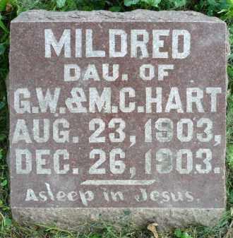 HART, MILDRED - Moody County, South Dakota   MILDRED HART - South Dakota Gravestone Photos