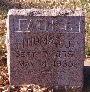 HART, THOMAS J - Moody County, South Dakota   THOMAS J HART - South Dakota Gravestone Photos