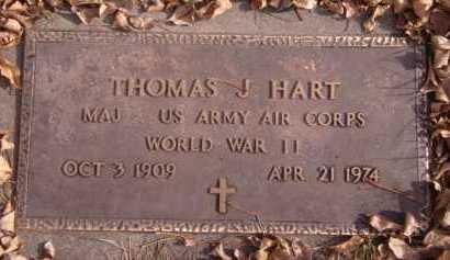 HART, THOMAS J (MILITARY) - Moody County, South Dakota | THOMAS J (MILITARY) HART - South Dakota Gravestone Photos