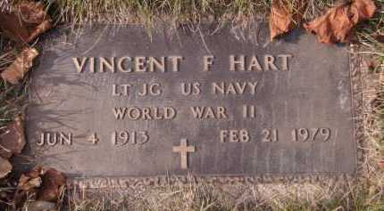 HART, VINCENT F (MILITARY) - Moody County, South Dakota | VINCENT F (MILITARY) HART - South Dakota Gravestone Photos
