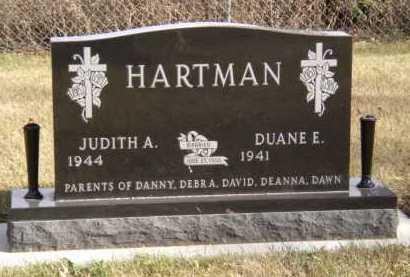 HARTMAN, JUDITH A - Moody County, South Dakota | JUDITH A HARTMAN - South Dakota Gravestone Photos