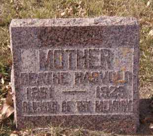 HASVOLD, BEATHE - Moody County, South Dakota   BEATHE HASVOLD - South Dakota Gravestone Photos
