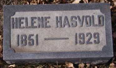 HASVOLD, HELENE - Moody County, South Dakota | HELENE HASVOLD - South Dakota Gravestone Photos