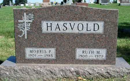 HASVOLD, MORRIS PETER - Moody County, South Dakota   MORRIS PETER HASVOLD - South Dakota Gravestone Photos
