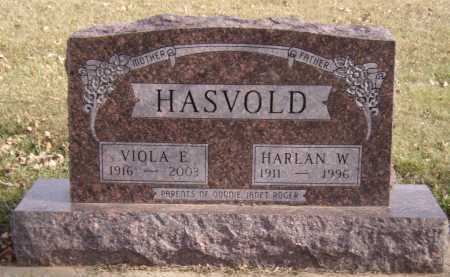 HASVOLD, HARLAN W - Moody County, South Dakota | HARLAN W HASVOLD - South Dakota Gravestone Photos