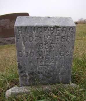 HAUGEBERG, IDA - Moody County, South Dakota   IDA HAUGEBERG - South Dakota Gravestone Photos