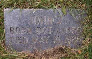 HAUGEBERG, JOHN J - Moody County, South Dakota | JOHN J HAUGEBERG - South Dakota Gravestone Photos
