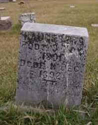 HAUGEBERG, JOHN TEORIN - Moody County, South Dakota   JOHN TEORIN HAUGEBERG - South Dakota Gravestone Photos