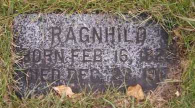 HAUGEBERG, RAGNHILD - Moody County, South Dakota | RAGNHILD HAUGEBERG - South Dakota Gravestone Photos