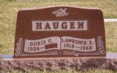 HAUGEN, DORIS C - Moody County, South Dakota | DORIS C HAUGEN - South Dakota Gravestone Photos