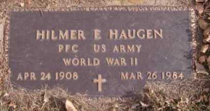 HAUGEN, HILMER E (MILITARY) - Moody County, South Dakota | HILMER E (MILITARY) HAUGEN - South Dakota Gravestone Photos