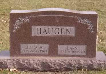 HAUGEN, JULIA W - Moody County, South Dakota | JULIA W HAUGEN - South Dakota Gravestone Photos