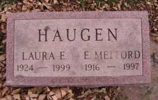 HAUGEN, LAURA E - Moody County, South Dakota | LAURA E HAUGEN - South Dakota Gravestone Photos