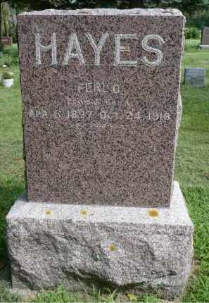 HAYES, FERL O. - Moody County, South Dakota | FERL O. HAYES - South Dakota Gravestone Photos