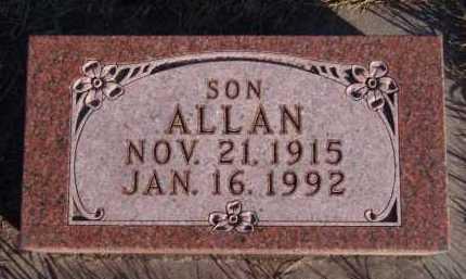 HELLAND, ALLAN - Moody County, South Dakota | ALLAN HELLAND - South Dakota Gravestone Photos