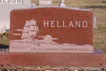 HELLAND, FAMILY - Moody County, South Dakota | FAMILY HELLAND - South Dakota Gravestone Photos