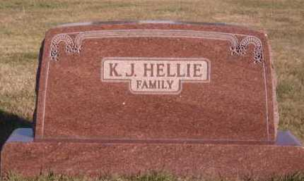 HELLIE, FAMILY - Moody County, South Dakota | FAMILY HELLIE - South Dakota Gravestone Photos