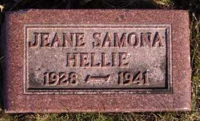 HELLIE, JEANE SAMONA - Moody County, South Dakota | JEANE SAMONA HELLIE - South Dakota Gravestone Photos