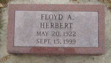 HERBERT, FLOYD A - Moody County, South Dakota   FLOYD A HERBERT - South Dakota Gravestone Photos