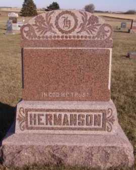 HERMANSON, FAMILY - Moody County, South Dakota   FAMILY HERMANSON - South Dakota Gravestone Photos