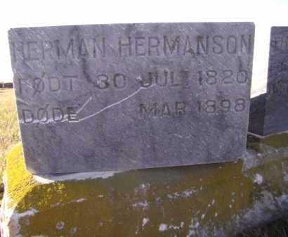 HERMANSON, HERMAN - Moody County, South Dakota | HERMAN HERMANSON - South Dakota Gravestone Photos
