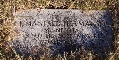 HERMANSON, T MANFRED - Moody County, South Dakota | T MANFRED HERMANSON - South Dakota Gravestone Photos