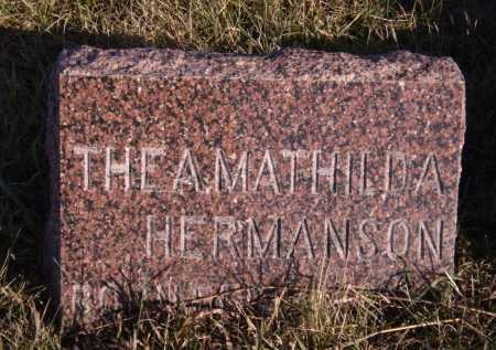 HERMANSON, THEA MATHILDA - Moody County, South Dakota | THEA MATHILDA HERMANSON - South Dakota Gravestone Photos