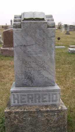 HERREID, ADOLPH - Moody County, South Dakota | ADOLPH HERREID - South Dakota Gravestone Photos