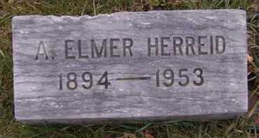 HERREID, A ELMER - Moody County, South Dakota | A ELMER HERREID - South Dakota Gravestone Photos