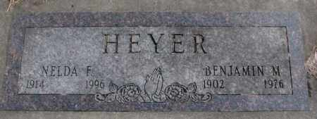HEYER, BENJAMIN M. - Moody County, South Dakota | BENJAMIN M. HEYER - South Dakota Gravestone Photos