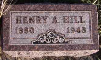 HILL, HENRY A - Moody County, South Dakota | HENRY A HILL - South Dakota Gravestone Photos