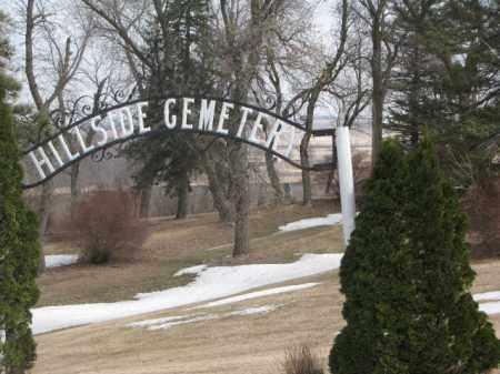 *HILLSIDE, FRONT GATE - Moody County, South Dakota | FRONT GATE *HILLSIDE - South Dakota Gravestone Photos