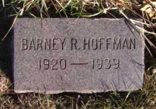 HOFFMAN, BARNEY R - Moody County, South Dakota   BARNEY R HOFFMAN - South Dakota Gravestone Photos