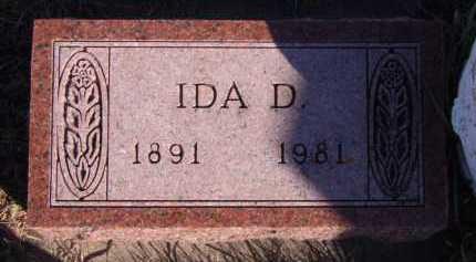 HOLIEN, IDA D - Moody County, South Dakota | IDA D HOLIEN - South Dakota Gravestone Photos