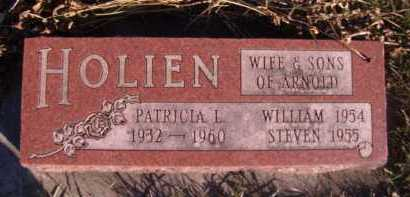 HOLIEN, PATRICIA L - Moody County, South Dakota | PATRICIA L HOLIEN - South Dakota Gravestone Photos