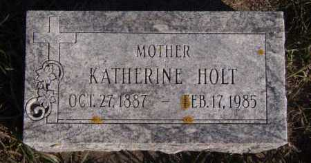 HOLT, KATHERINE - Moody County, South Dakota | KATHERINE HOLT - South Dakota Gravestone Photos