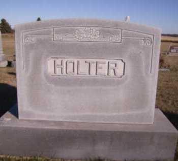 HOLTER, FAMILY - Moody County, South Dakota | FAMILY HOLTER - South Dakota Gravestone Photos