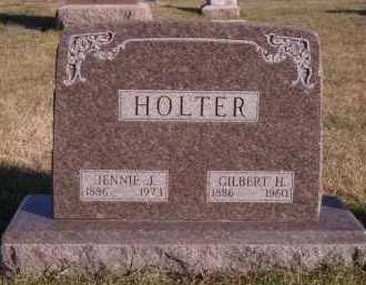 HOLTER, JENNIE J - Moody County, South Dakota | JENNIE J HOLTER - South Dakota Gravestone Photos