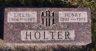 HOLTER, HENRY EMIL - Moody County, South Dakota   HENRY EMIL HOLTER - South Dakota Gravestone Photos