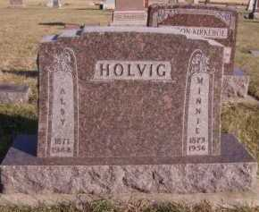 HOLVIG, ALBY - Moody County, South Dakota | ALBY HOLVIG - South Dakota Gravestone Photos