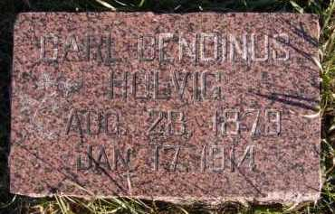 HOLVIG, CARL BENDINUS - Moody County, South Dakota | CARL BENDINUS HOLVIG - South Dakota Gravestone Photos