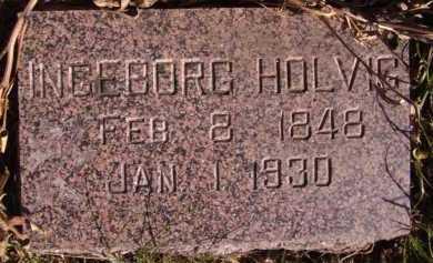 HOLVIG, INGEBORG - Moody County, South Dakota   INGEBORG HOLVIG - South Dakota Gravestone Photos