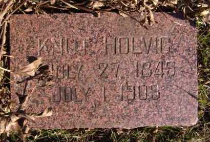 HOLVIG, KNUT - Moody County, South Dakota | KNUT HOLVIG - South Dakota Gravestone Photos