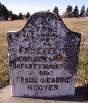 HOOVER, FAY EVELYN - Moody County, South Dakota | FAY EVELYN HOOVER - South Dakota Gravestone Photos