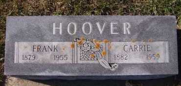 HOOVER, FRANK - Moody County, South Dakota | FRANK HOOVER - South Dakota Gravestone Photos
