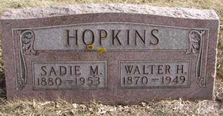 HOPKINS, WALTER H. - Moody County, South Dakota | WALTER H. HOPKINS - South Dakota Gravestone Photos